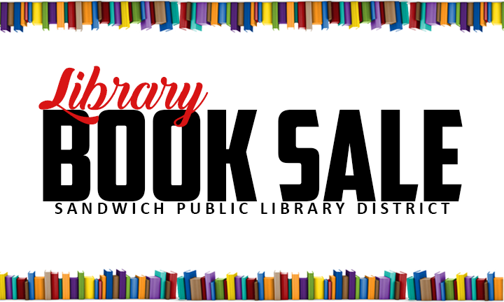 library book sale logo